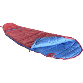 High Peak Tembo Vario Sleeping Bag left red/blue